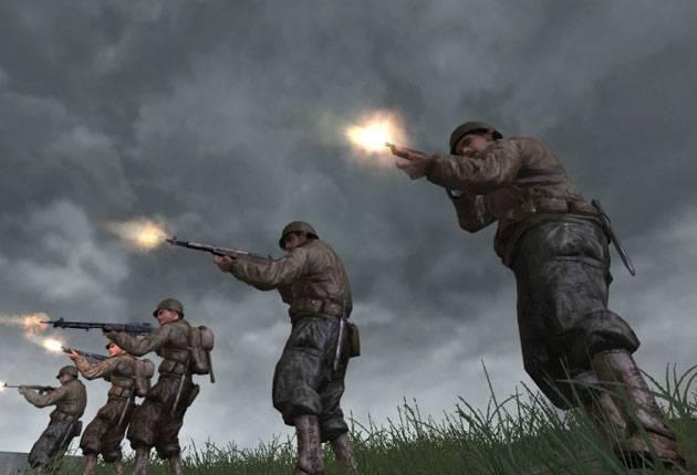 Call of Duty 2 - дата выхода, коды, скриншоты к игре Call of Duty 2 на сайт